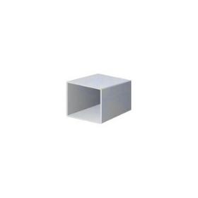 Uzavřené pozinkované čtvercové profily